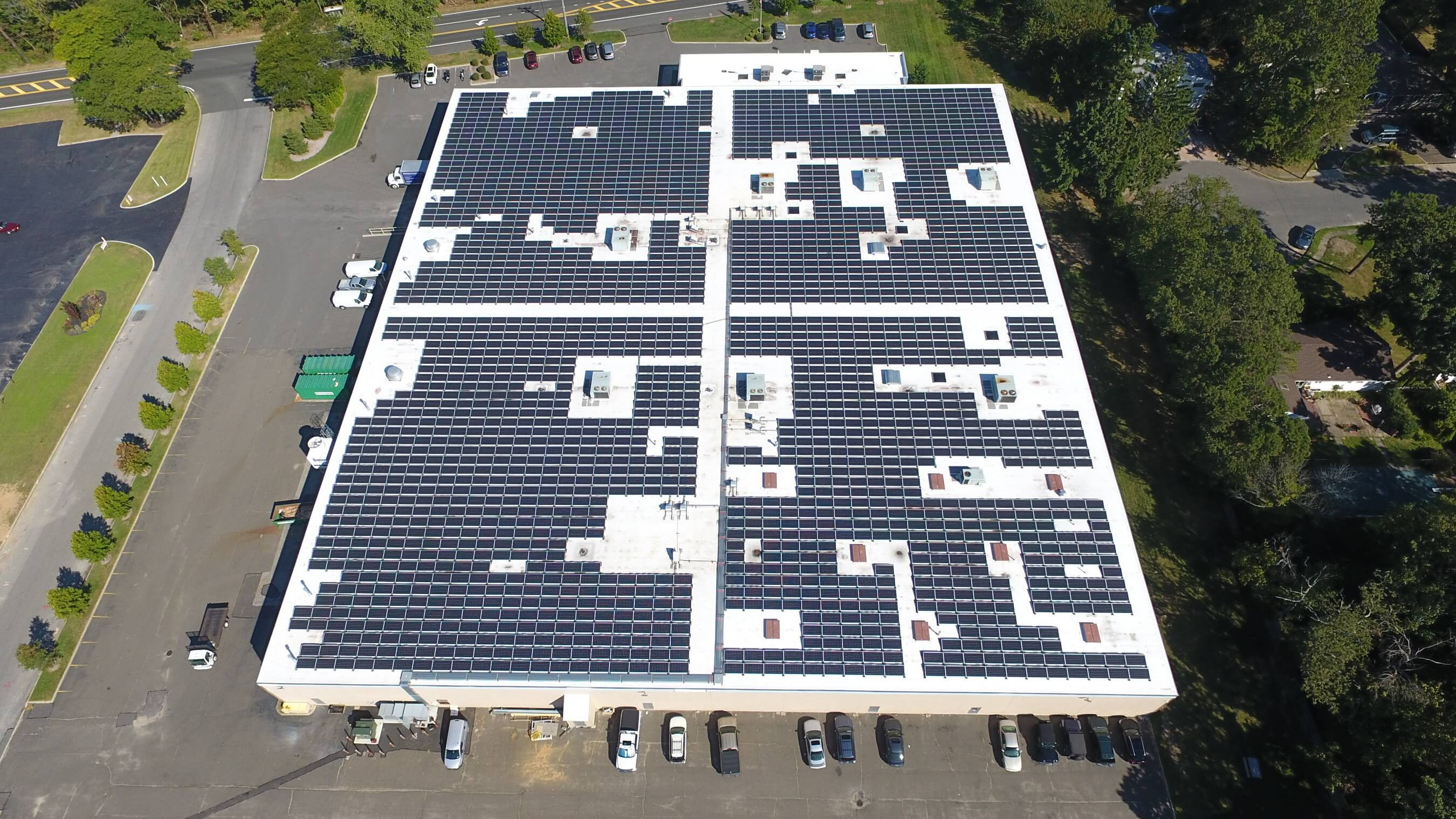 Large Rooftop PV System Comes Online on Long Island - Solar Industry