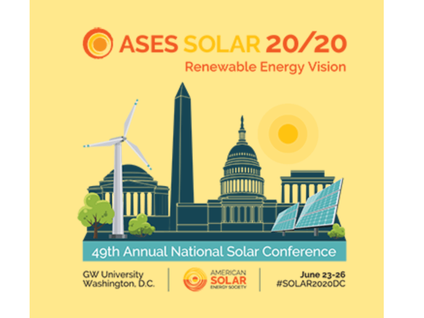 SOLAR 20/20: Renewable Energy Vision Conference Goes Virtual