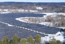 Borrego's Utility Scale Solar in Milo, Maine