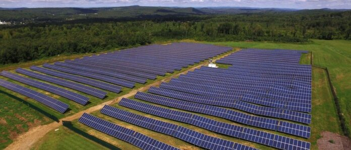 Nexamp's Monson Solars project